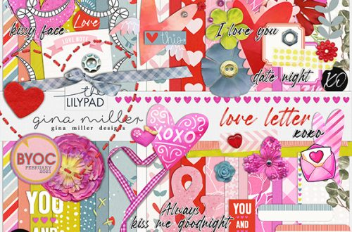 Gina Miller Designs Love Letter BYOC The Lilypad